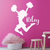 Poms and Cheers Name Decal