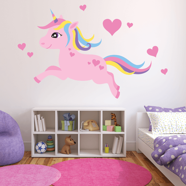 Princess Pony Decal Set