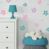 Retro Daisies Wall Decals