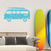 Retro Surf Van Wall Decal