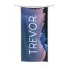 Mountain Sky Towel with Print font option
