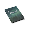 Misty Forest Journal in Script Font Side View