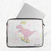 Skater Dino Laptop Sleeve