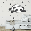 Sleepy Panda Decal Set