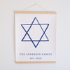 Star of David Canvas Banner