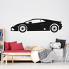 Supercar Vinyl Wall Decal