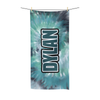 Green Tie-Dye Beach Towel