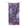 Purple Tie-Dye Beach Towel