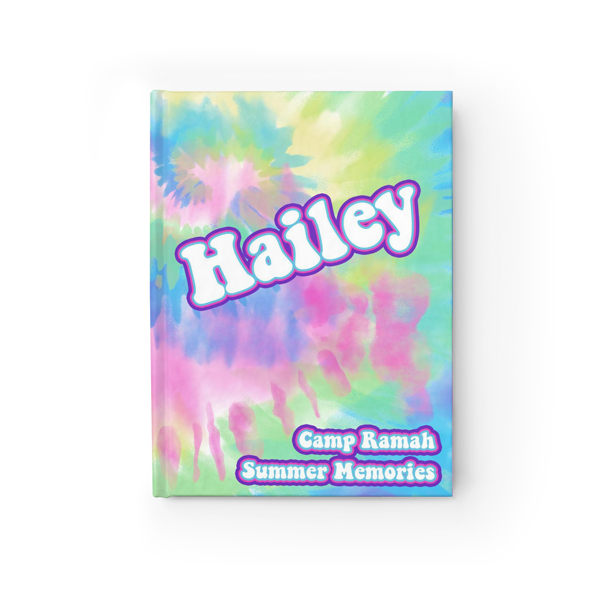 Groovy Tie-Dye Journal