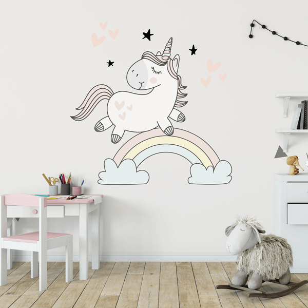 Unicorn Rainbow Decal Set