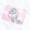 Bubblegum Unicorn Carry-All Pouch