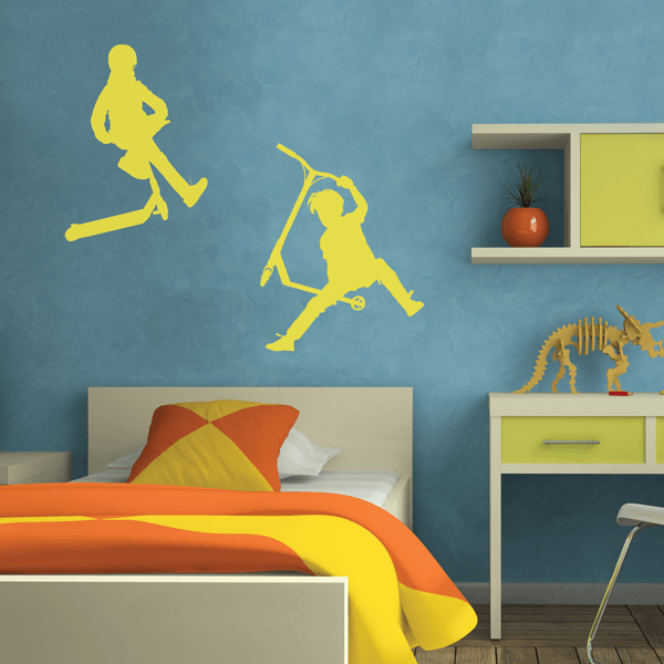 Urban Riders Wall Decals