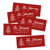 Vintage Holiday Sweater Return Address Labels