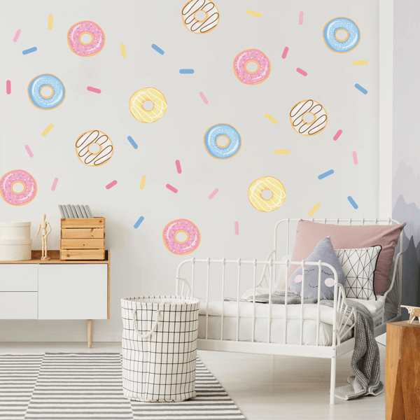 Yummy Donut Wall Decals