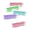 Watercolor Return Address Labels
