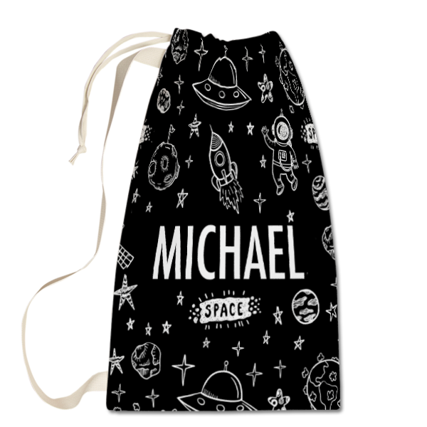 Outer Space Laundry Bag