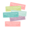 Soft Spring Return Address Labels