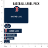 MLB Baseball Label Pack