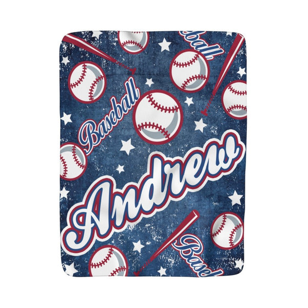 All Star Baseball Fleece Blanket