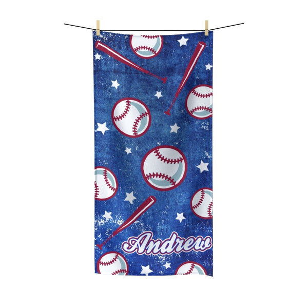 Baseball Beach Towel