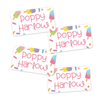 Tween Ice Pops Design Extra Small Clothing Labels