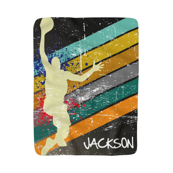 Basketball Fleece Blanket