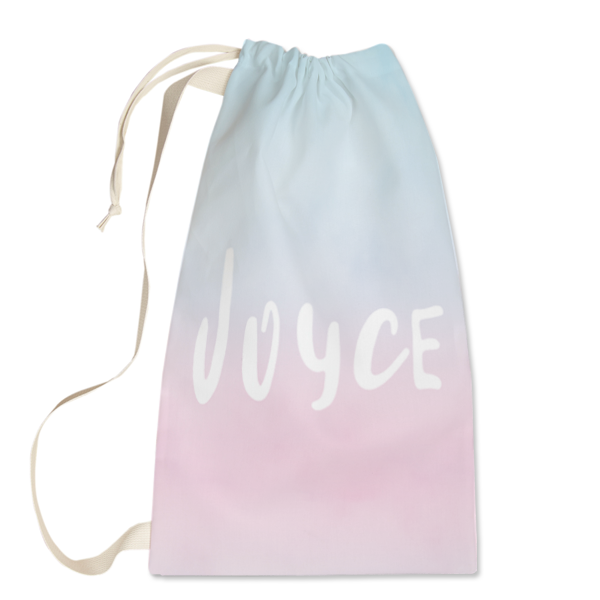 Blushing Water Laundry Bag