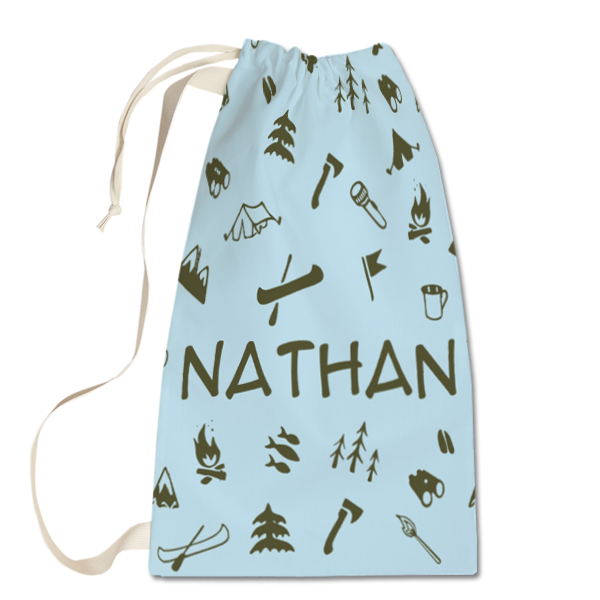 Gone Camping Laundry Bag