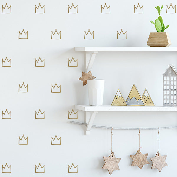Crown Decal Set
