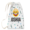 Happy Emoji Laundry Bag