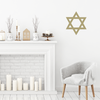 Star of David Wall Decal
