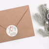 Joyful Holiday Return Address Labels