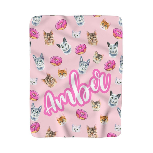 Kitty Heaven Fleece Blanket