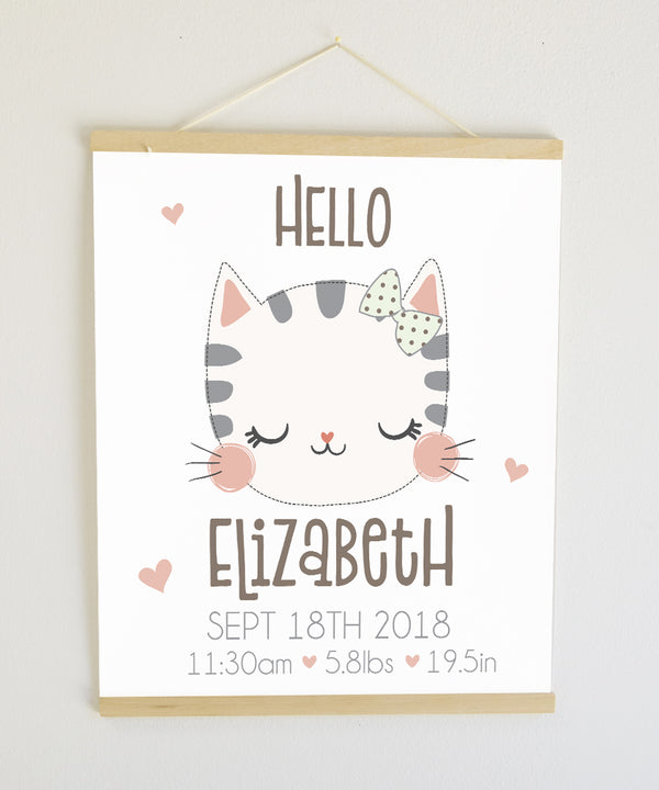 Kitten Birth Banner