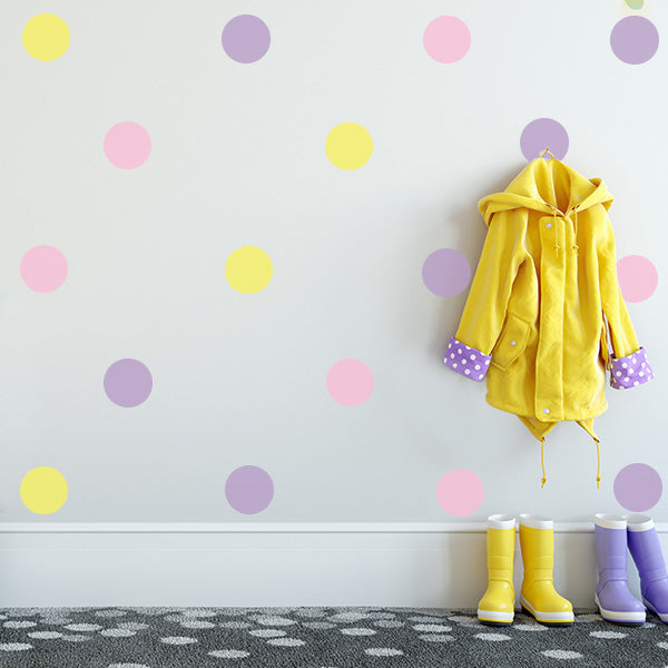 Large Polka Dot Wall Decals