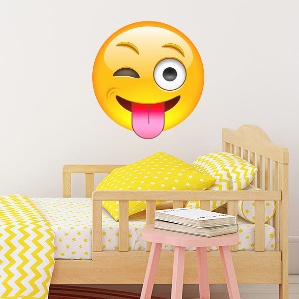 Giant Emoji Wall Decal