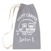 Happy Camper Laundry Bag Front View
