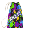 Galactic Splatter Laundry Bag Large