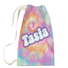 Rainbow Tie-Dye Laundry Bag Large