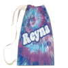 Purple Wave Tie-Dye Laundry Bag Large