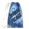 Blue Tie-Dye Laundry Bag Large