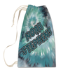 Green Tie-Dye Laundry Bag Large