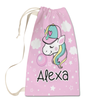 Bubblegum Unicorn Laundry Bag
