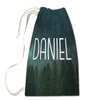 Misty Forest Laundry Bag