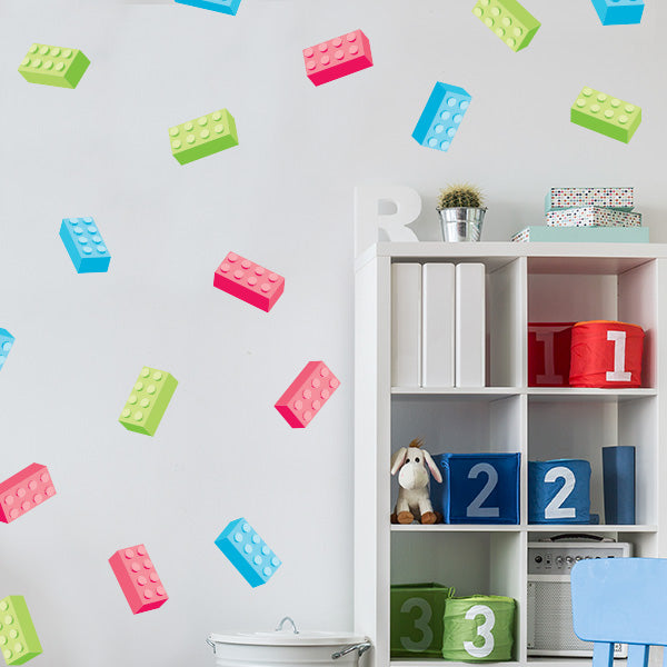 Building Block Wall Decals