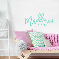 Maddison Name Decal