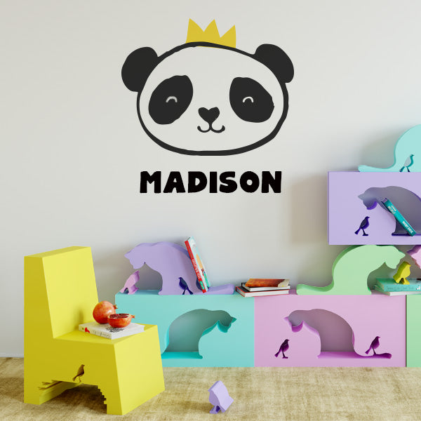 Royal Panda Wall Decal