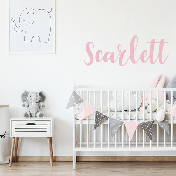 Scarlett Name Decal