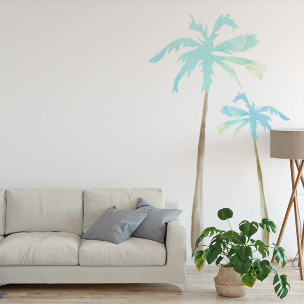 palm tree wall decals – labeldaddy