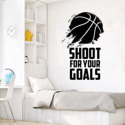 Hoop Dreams Wall Decal